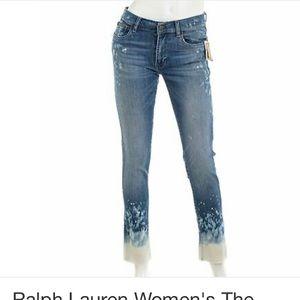 Polo Ralph Lauren Tompkins Skinny Jeans tie dye